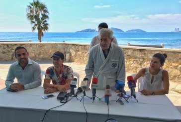 Llega Ignacio López Tarso a Mazatlán para grabar cortometraje