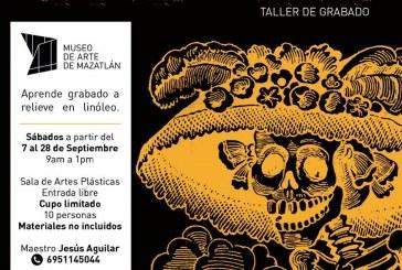 Invitan a formar parte de los talleres Calaveras y Playeras, y Flora y Fauna de Mazatlán.