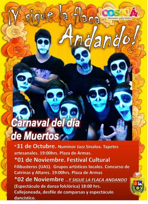 Carnaval de Muertos Cosalá Pueblo Mágico 2019 1