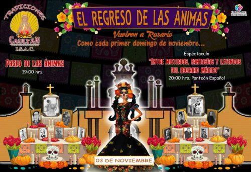 El Regreso de la ánims El Rosario Pueblo Mágico 2019 1