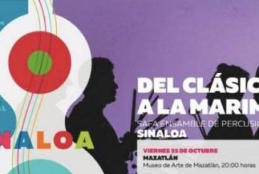 Safa Ensamble de Percusiones presentará su concierto del clásico a la marimba