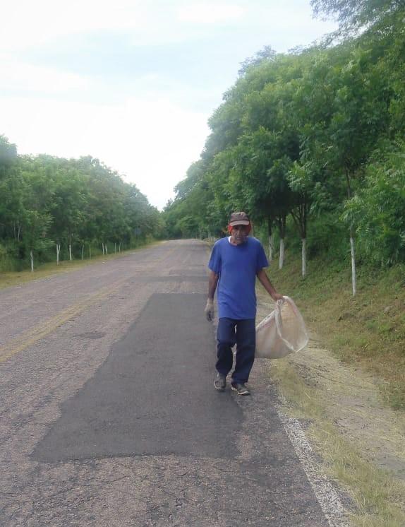 Ixpalino Zona Trópico San Ignacio Sinaloa México Ejemplo de Limpieza 2019 3