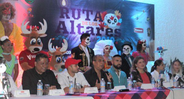 Lan Ruta de los Altares Zona Dorada Mazatlán Orimera Edición 2019 1