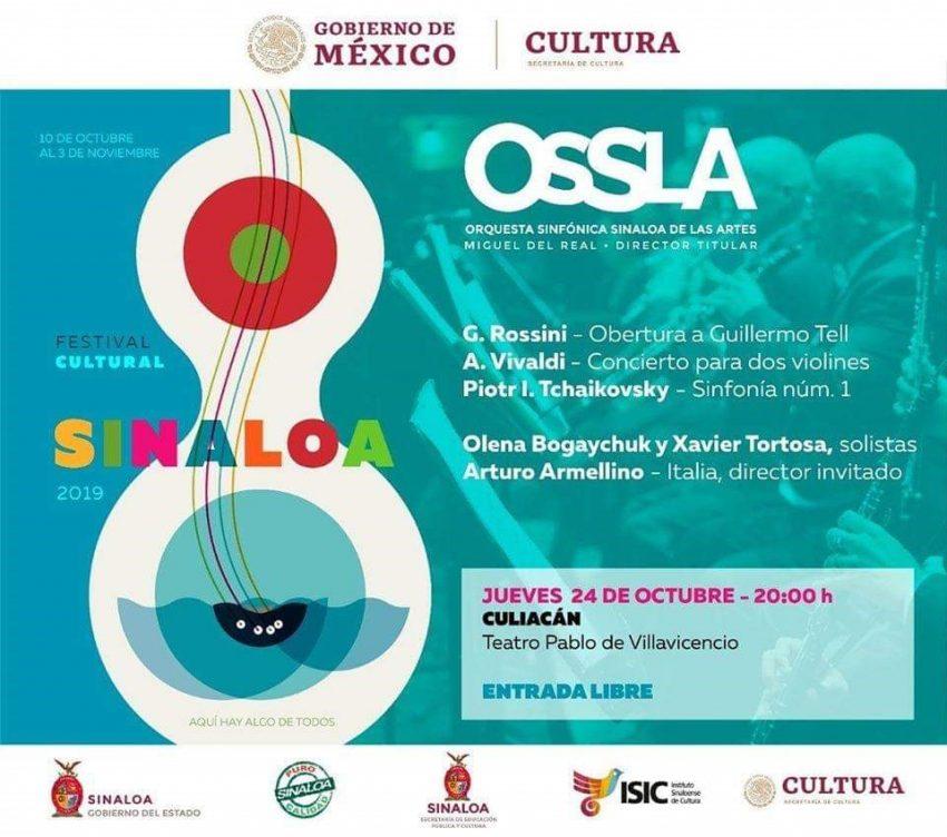 OSSLA en concierto este jueves en Culiacán
