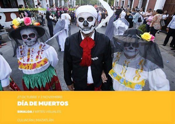 Papik Rmírez Festival CUltural Puro Sinaloa Presentación Mazatlán 2019 Día de Muertos a