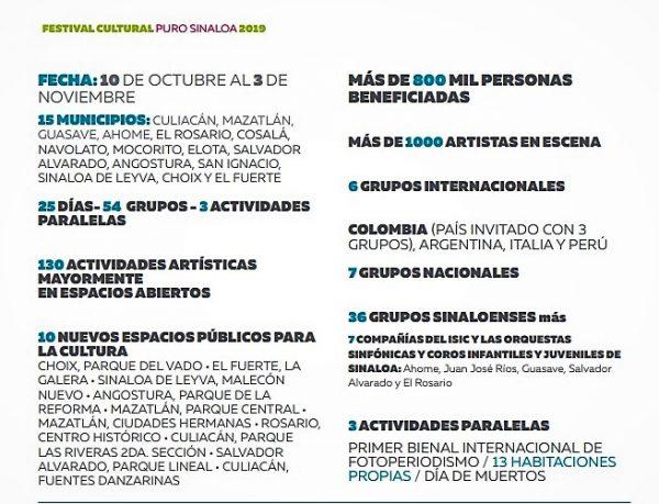 Papik Rmírez Festival CUltural Puro Sinaloa Presentación Mazatlán 2019 Eventos