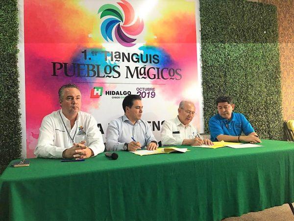 Primer Tianguis de Pueblos Mágicos de México Convenio AMAV 2019 1