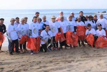 SEDESU y San Ignacio trabajan para mantener playas limpias