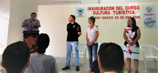 San Ignacio Curso Cultura Turístiuca Mónica Coppel Sectur 2019
