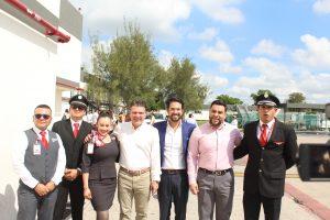 TAR Vuelo Inaugural Mazatlán Querétaro Aeropurto Mazatlán 2019 2