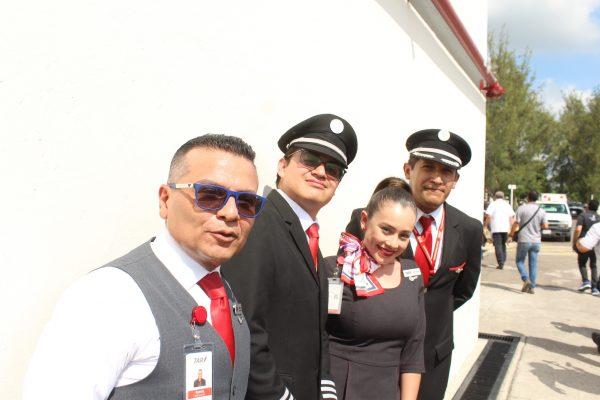 TAR Vuelo Inaugural Mazatlán Querétaro Aeropurto Mazatlán 2019 3