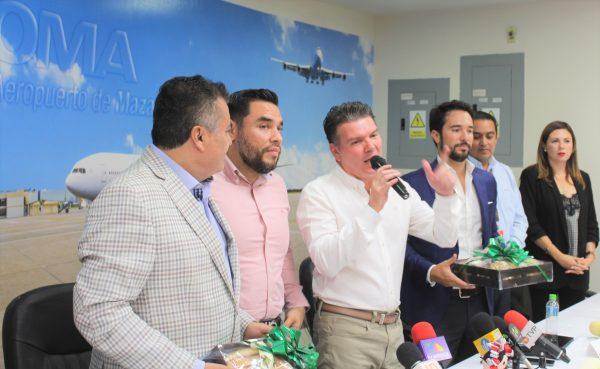 TAR Vuelo Inaugural Mazatlán Querétaro Aeropurto Mazatlán 2019 5