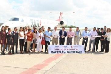 TAR Conecta a Mazatlán con Querétaro y una amplia Zona del Bajío 2019