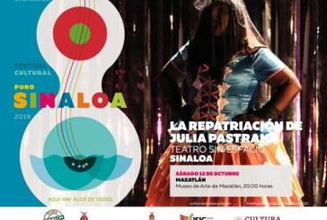 Este sábado se inaugura en Mazatlán el Festival Cultural Puro Sinaloa 2019
