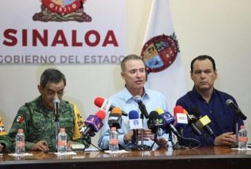 Sinaloa, muestra de un buen modelo de prevención: Quirino