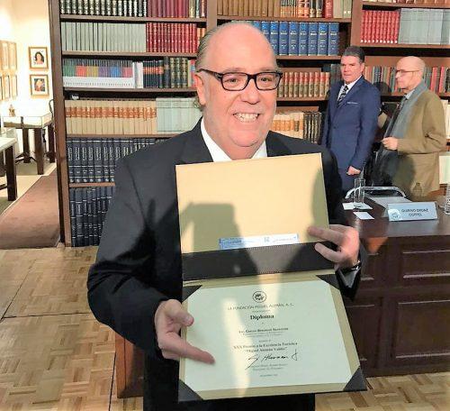 Carlos Berdegué Sacritán Recibe el Premio a la Excelencia Turística 2019 1