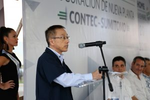 Contec Sumitomo Inaugura Nuevas Plantas en Los Mochis y San Blas 2019 Teruaki Nambu residente de CONTEC