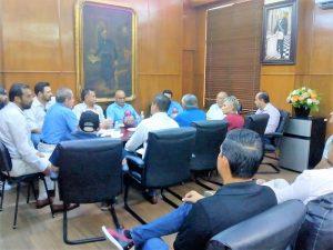 Empresarios Apoyan Disidentes de Moto Club Mazatlán 2019 Reunión Alcalde Benítez Torres 1