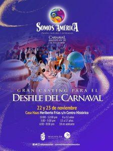 Casting para el Desfile de Carnaval