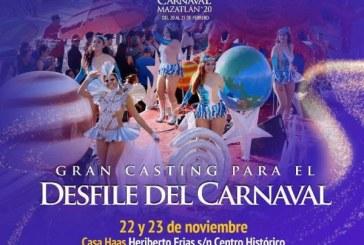 """""""El Gran Casting para El Desfile del Carnaval"""""""