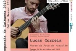 Concierto de guitarra de Lucas Correia