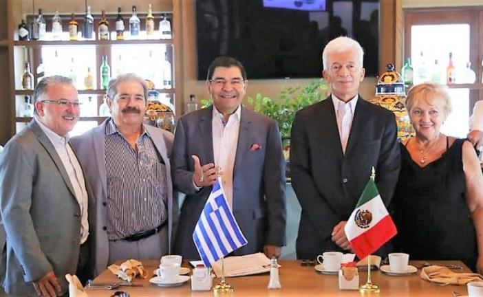 Sinaloa y Grecia Estrechan Relaciones