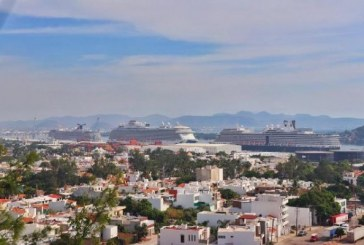 Arriban 3 cruceros turísticos a Mazatlán
