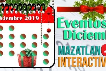 Calendario de eventos Diciembre