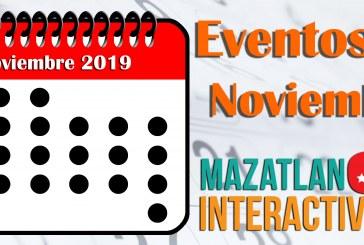 Calendario de eventos Noviembre.