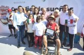 """Wheelchair Warren"" llega al puerto de Mazatlán"