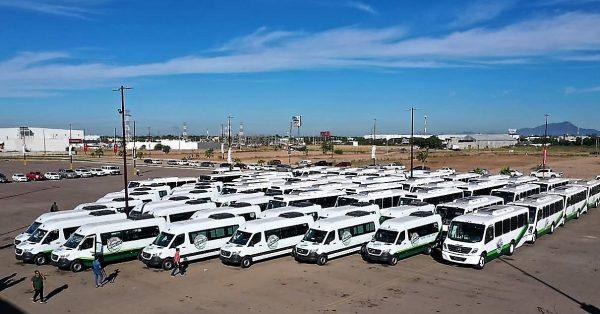Avanza Renovación del Parque Vehicular del Transporte Urbano de Sinaloa entregan 60 más Dic 2019 2