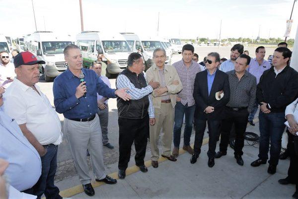 Avanza Renovación del Parque Vehicular del Transporte Urbano de Sinaloa entregan 60 más Dic 2019 3