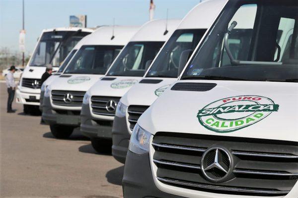 Avanza Renovación del Parque Vehicular del Transporte Urbano de Sinaloa entregan 60 más Dic 2019 5