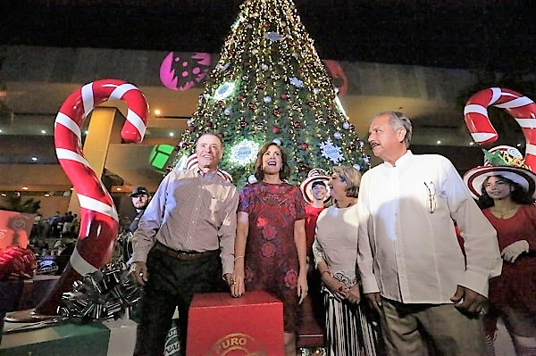 Ev Villa Navideña se Enciende el Árbol de Navidad más Alto de Sinaloa 2019 (13)
