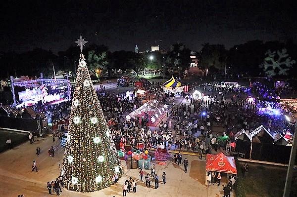 Ev Villa Navideña se Enciende el Árbol de Navidad más Alto de Sinaloa 2019 (10)