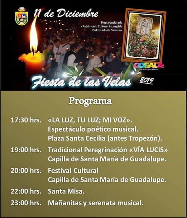 Programa Fiesta de las Velas