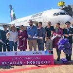 Volaris acerca más a Monterrey y Mazatlán