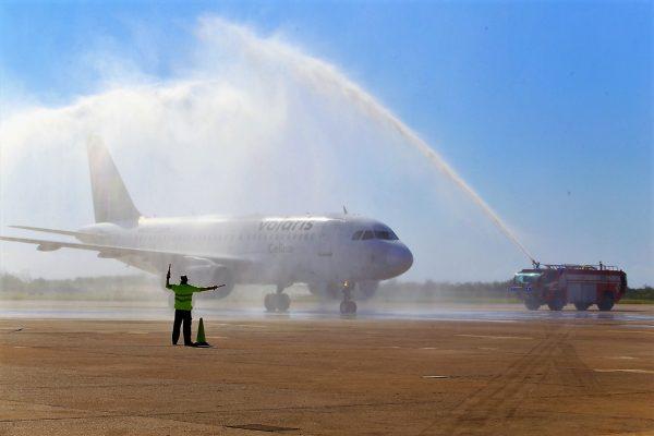 Vuelo Inaugural Volaris Mazatlán Monterrey Diciembre 2019 (2)