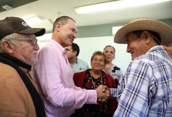 Quirino anuncia obra de adoquinado de calles en El Maviri
