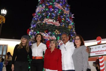 Invita Rosy Fuentes a la iluminación del Árbol Navideño más grande de Sinaloa