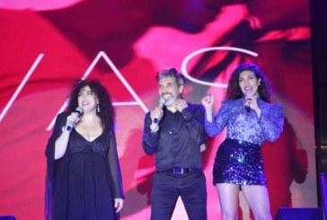 """Amanda, Diego y Ana Victoria cantaron """"Siempre juntos"""""""