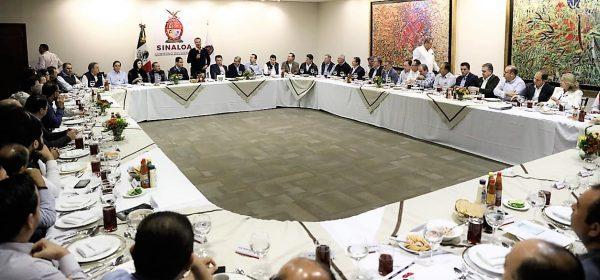 Arturo Herrera Gutiérrez Reunión, Empresarios, Sinaloenses Quirino Ordaz Coppel SHCP Sinaloa Gobernador 2020 2