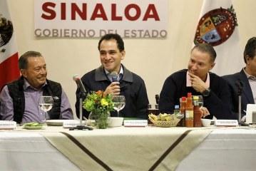 Titular de la SHCP sostiene encuentro con empresarios sinaloenses
