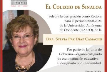 Dra. Sylvia Paz Díaz Camach  nueva rectora de la (UADO)