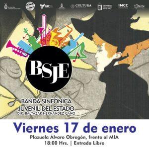 Banner web BSJE concierto para el 17 de enero