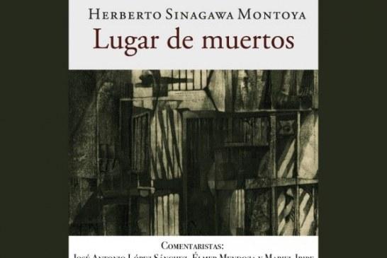 """presenta el libro """"Lugar  de muertos"""""""