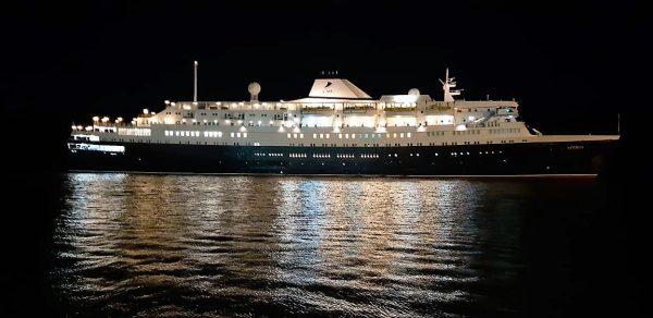 Crucero Astoria Arriba a Topolobampo Enero 2020