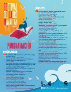 Festival del Libro Mazatlán 2020 Programa 1