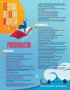 Festival del Libro Mazatlán 2020 Programa 3