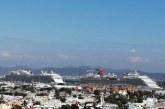 Los cruceros turísticos, Carnival Panorama y Royal Princess llegaron ayer al Puerto